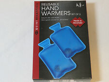 Reusable Hand Warmer Set of 2 Heats in Seconds Quint Essentials QT6366BL