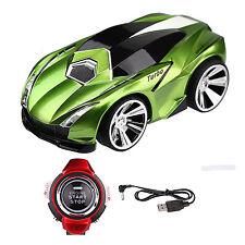 Vert Lambo commande vocale véhicule voiture avec smart watch kid 2.4 G