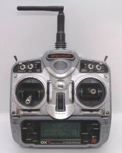 Spektrum dx7 dsm2 transmitter excellent condition mode2+2100mah eneloop battery