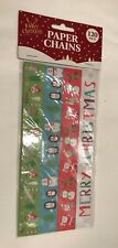 Christmas Festive Paper Chains x 120 New (lot 112)
