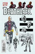 Deathlok #1 1:25 Design Variant Comic Book Marvel 2014