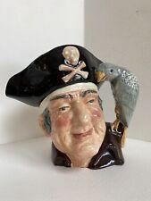 Royal Doulton Long John Silver Large Character Toby Jug Mug 1951 D6335 Mint