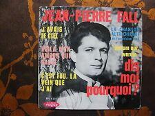 EP JEAN-PIERRE FALL - Dis-Moi Pourquoi? +3 / Vogue EPL 8225   Eurovision  (1964)