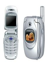 Samsung SGH-E600C Silver Silber E600 Ohne Simlock NEU
