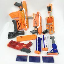 Nerf N-Strike Elite Dart Gun Blaster Lot Stryfe Demolisher 2 in 1 Ammo Clips