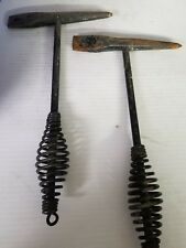 2 WELDERS CHIPPING Hammers