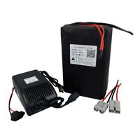 52V 30Ah Lithium Li-ion Battery Pack for 1500W E-Bike Scooter Motor with Charger