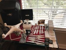 DJI Phantom 4 PRO 4K Camera+Extra Batteries, HDMI Output, Solid Carry Case, ND.