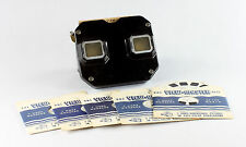 View-Master Model C Viewer and 5 VM Reels of 5 different USA Cities