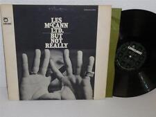 LES MCCANN LTD. But Not Really LP Limelight LS 86016 gatefold DG original album