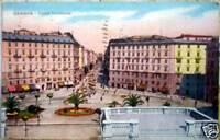 1936 GENOVA Piazza Tommaseo ediz.Sormani