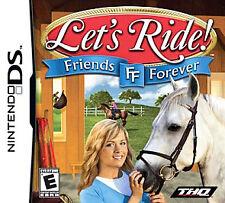 Let's Ride Friends Forever (Nintendo DS) 3ds 2ds dsi XL