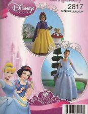 Child Disney Costumes   Sewing Pattern 2817  (7-14)
