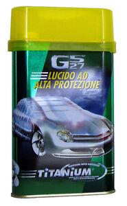 CERA PER AUTO AL TITANIUM - GS27 HIGH PROTECTION POLISH 500 ML.