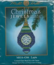Christmas Jewels Lapis Ornament by Mill Hill Bead Kit