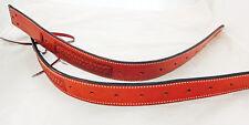 Billy Cook Flank Back Cinch Pair Billets Basket Stamp Leather Saddle Horse Tack