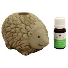 Sauna Oil Burner Hedgehog & Eucalyptus 10 ml, 100% pure Essential oil, Handmade