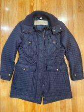 Burberry jacket women medium navy