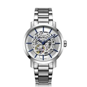Rotary Greenwich Mens Automatic Watch With Sapphire Glass GB05350/06