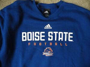 NCAA BOISE STATE FOOTBALL SWEATSHIRT/Adidas/Size 2XL/New - Tags