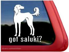 Got Saluki? | High Quality Vinyl Sight Hound Dog Window Decal Sticker