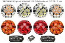 RDX LED XS Style 8 Lamp/lights & Side Repeaters Defender 1998 to 2016 Td5/Tdci D