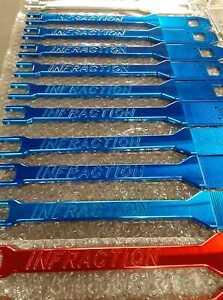 Arrma Infraction Wheelie Bar Powdercoated Lollypop BLUE