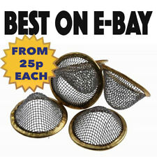 More details for pipe screens gauze conical steel brass filter screen cone- pipes bongs-all sizes