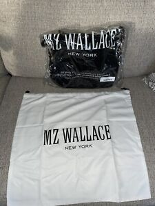 MZ Wallace Paige Crossbody Bag In Black NWT