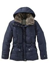 Padded Jacket by Boysen's Blue Size 40 Box4730 A