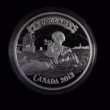 2013 CANADA $5 Fine silver coin  BANK NOTE , 9999 SILVER NO TAX