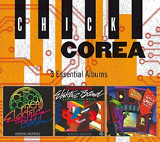 CHICK COREA 3 Essential Albums 3CD NEW Elektric Band/Beneath The Mask/Time Warp