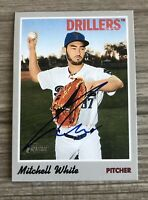Mitchell White Signed 2019 Topps Heritage Minors Autographed Auto Card Dodgers