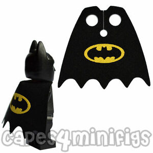 CUSTOM Batman cape for your Lego minifigure - CAPE ONLY NO MINIFIG