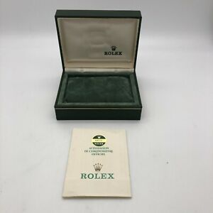 Rolex Genuine Datejust 68273 watch box case 11.00.01 Guarantee B0410003