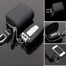 US Mens Leather Key Car Holder Case Bag Wallet Chain Keychain Pouch Zipper New