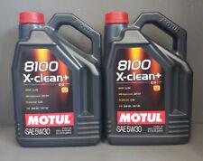 10 litros Motul 8100 X-CLEAN + ACEITE DE MOTOR SAE 5w30 Gasolina Diesel + #