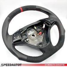Abgeflacht Alcantara Lenkrad Neu Fiat Grande Punto Lederlenkra ROT