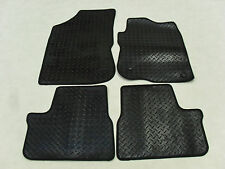 Peugeot 2008 2013-on Fully Tailored Deluxe RUBBER Car Mats in Black