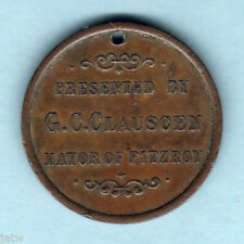 New listing Australia - Fitzroy Childrens Carnival. 1887 Victoria's Jubilee Medallion. Vf