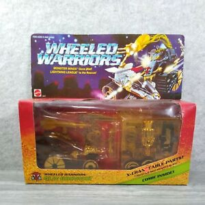 Mattel Wheeled Warriors Gun Grinner Vintage 1984 Action Figure / Vehicle Sealed