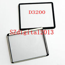 LCD Window Display (Acrylic) Outer Glass For NIKON D3200 D3300 Repair Part +Glue