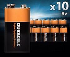 Duracell 9V Alkaline Batteries 10-Pack