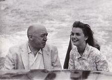 Otto Preminger Lee Remick à Venise Original Vintage Mai 1959