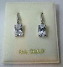 Pendientes de joyería ganchos esmeralda