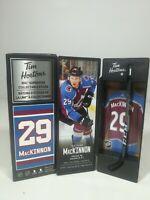 2020 Nathan MacKinnon Tim Hortons Limited Edition NHL Superstar Stick / Locker