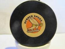 Denver Spurs puck by Converse