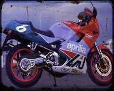 Aprilia Af1 125 Sintesi 89 01 A4 Metal Sign Motorbike Vintage Aged
