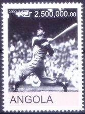 Angola 2000 MNH, Baseball Player Joe DiMaggiot, Sports
