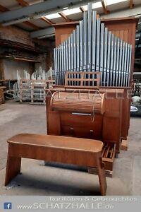 Originale Kirchenorgel mit Orgelpfeifen/ Pfeifenprospekt etc.